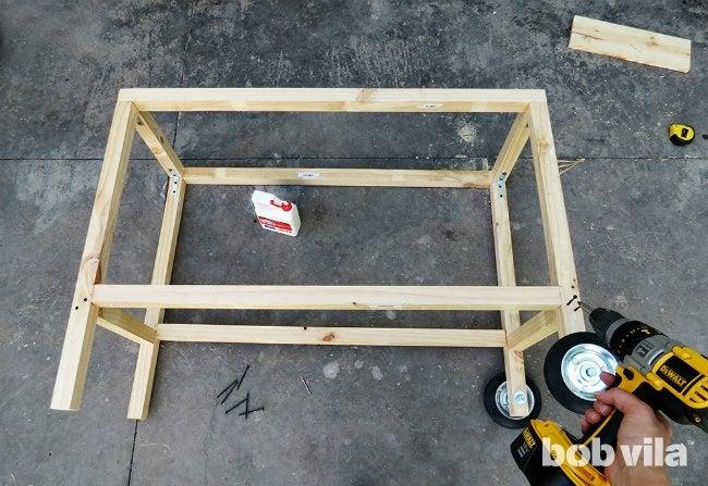 DIY Outdoor Kitchen - Step 10