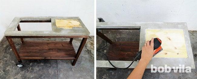 DIY Outdoor Kitchen - Step 14