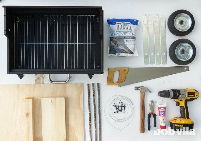 DIY Outdoor Kitchen - Supplies