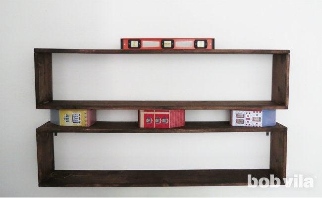 DIY Wall Shelves - Step 8