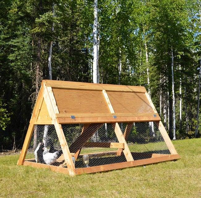 DIY Chicken Coop - Design by Ana White