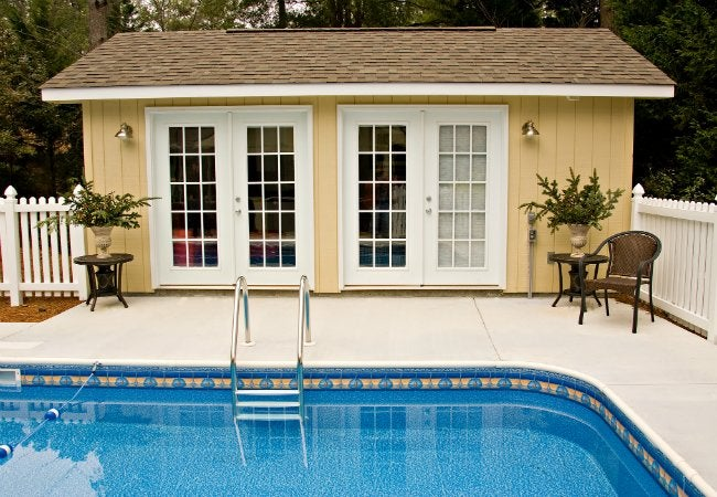 Swimming Pool Maintenance - Pool House