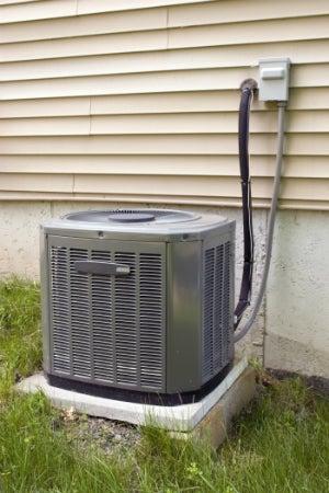 Air Conditioner Leaking - AC Compressor Detail