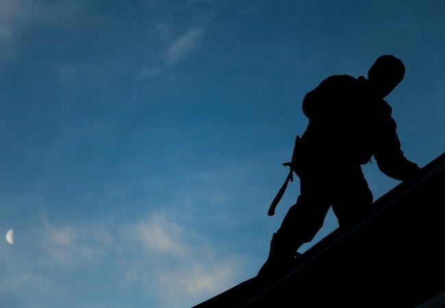 New Roof Benefits - Contractor Silhouette