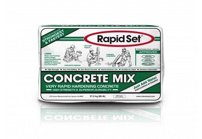 Setting Fence Posts - Rapid Set Concrete Mix