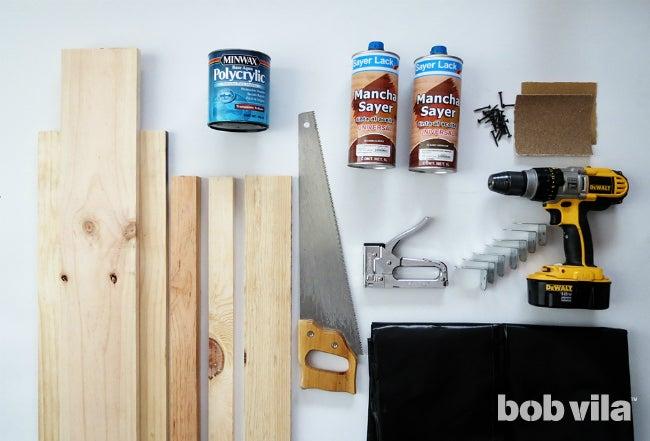 DIY Planter Box - Supplies