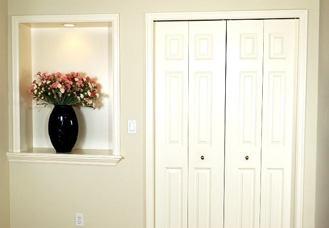 Use WD-40 EZ-REACH to Lubricate Stuck Doors