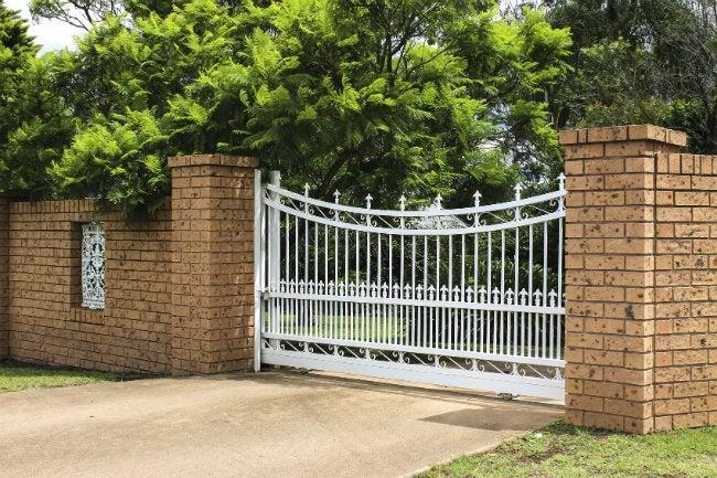 Fence Types - Brick Masonry