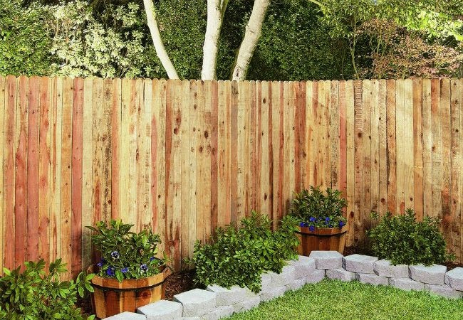 Fence Types - Redwood