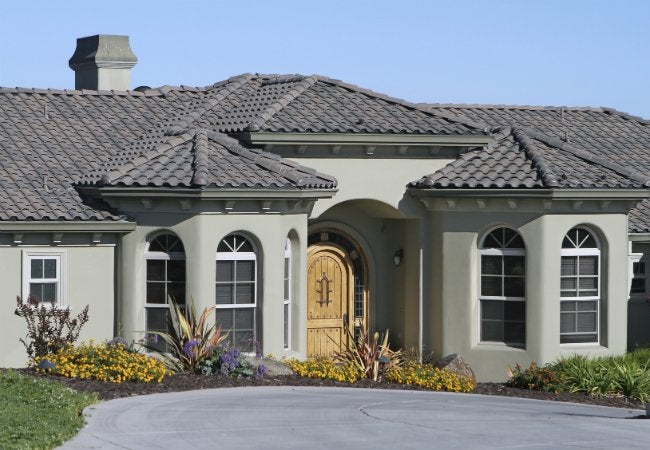 How to Paint Stucco - On a House Exterior