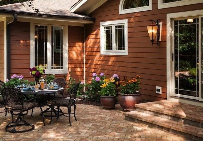 Adding a Sliding Door - Backyard Patio Area