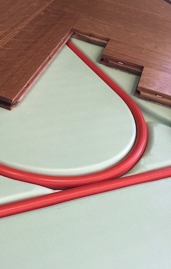 Radiant Heating Pros and Cons - Cutaway Shot