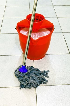 How to Clean Ceramic Tile - With a Mop