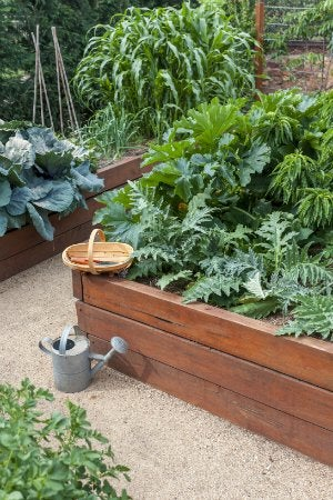 How to Build a Raised Garden Bed - Completed Project