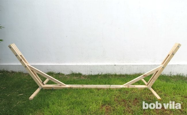 DIY Hammock Stand - Step 10