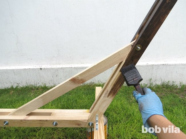 DIY Hammock Stand - Step 11