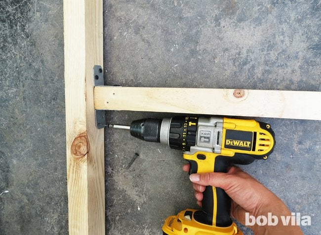 DIY Outdoor Privacy Screen - Step 3