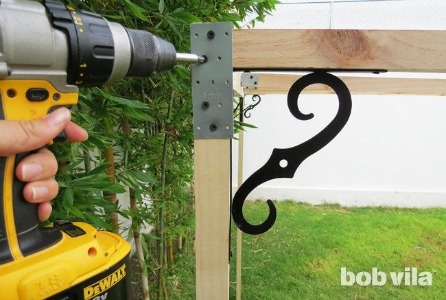 DIY Outdoor Privacy Screen - Step 6