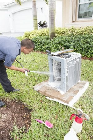 How to Clean AC Coils