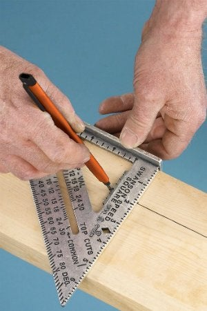 How to Use a Speed Square in Carpentry