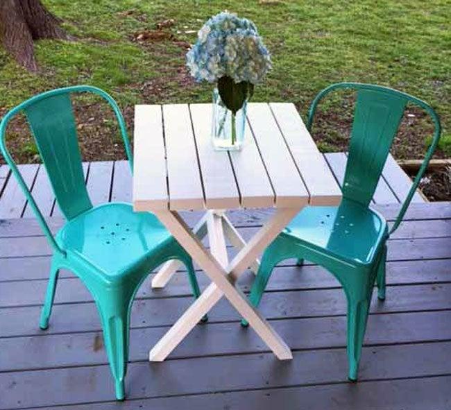 DIY Bistro Table