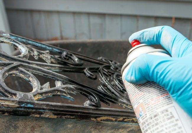 Spray Painting Tips
