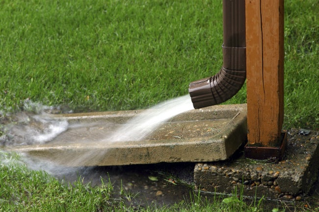 Dry Wells - Downspout