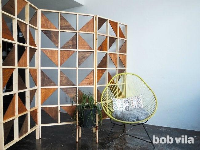 DIY Room Divider - Splitting Up the Floor Plan