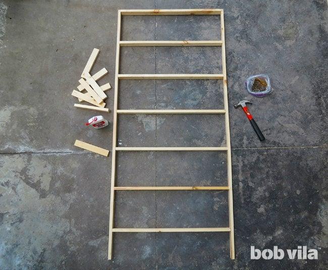 DIY Room Divider - Step 3