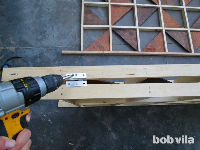 DIY Room Divider - Step 9