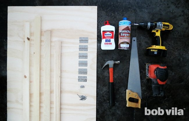 DIY Room Divider - Supplies