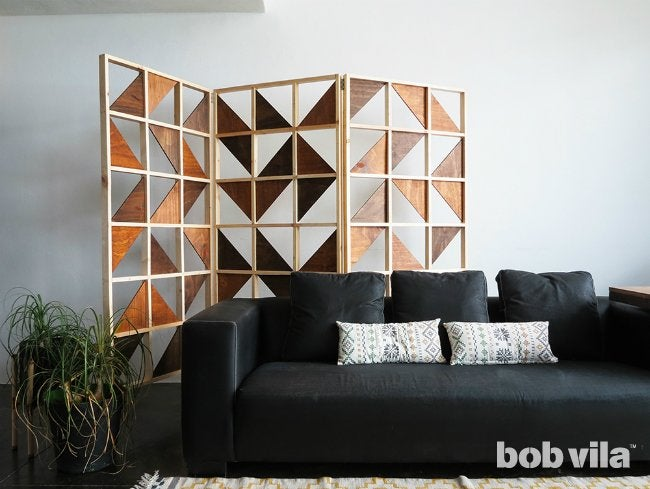 DIY Room Divider - Wall Art When Not in Use