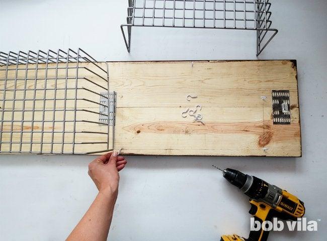 DIY Shoe Storage - Step 6
