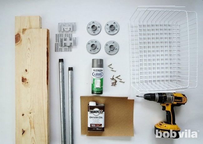 DIY Shoe Storage - Supplies