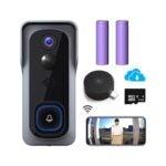 The Best Wireless Doorbell Option: Morecam WiFi Video Doorbell Camera