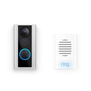 The Best Wireless Doorbell Option: Ring Peephole Cam with Ring Chime