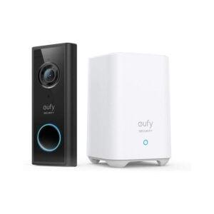 The Best Wireless Doorbell Option: eufy Security Video Doorbell Kit, 2K Resolution