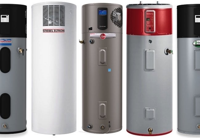 Heat Pump Water Heaters - Collage 2