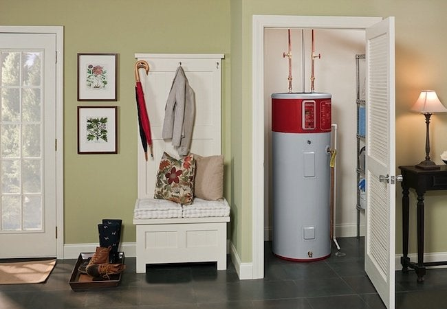 Heat Pump Water Heaters - In Closet