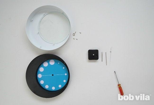 How to Make a Clock - Step 1