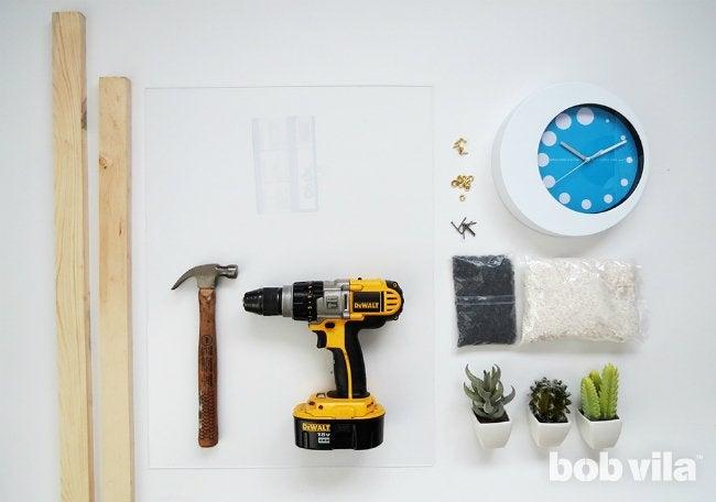 How to Make a Clock - Supplies