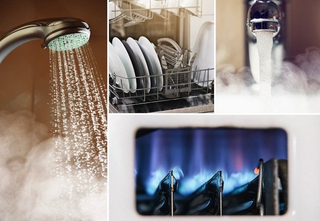 Indirect Water Heaters - Applications Collage