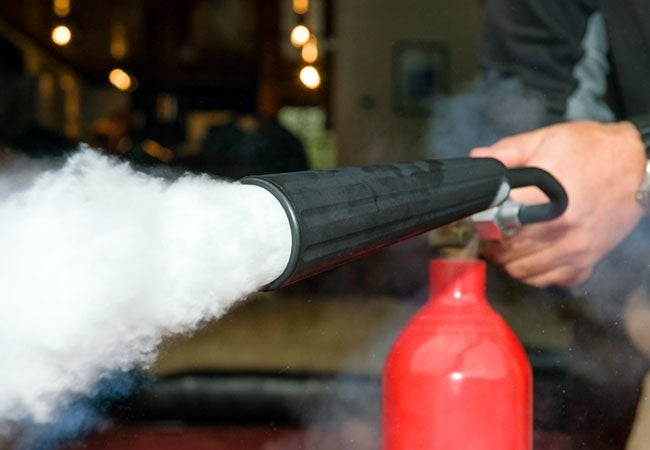 How To: Use a Fire Extinguisher