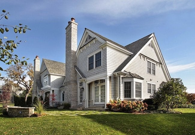 How to Choose Siding - House Rear View
