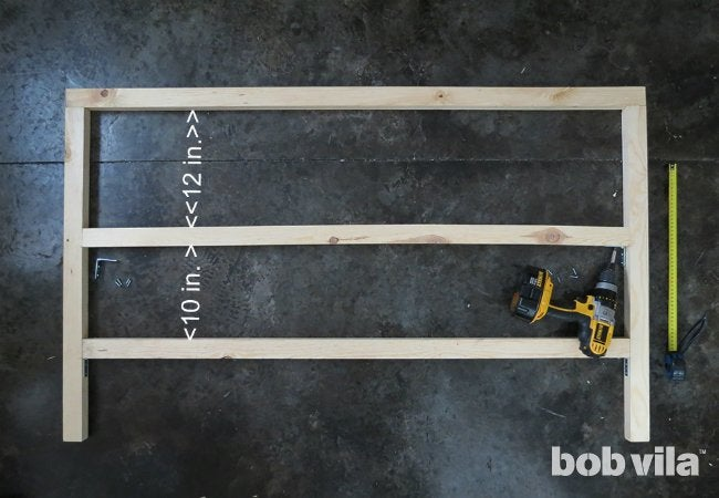 How to Build a Kitchen Island - Step 2