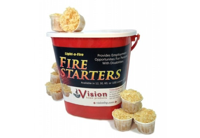 Best Fire Starter - Light-a-Fire by Vision Home Products