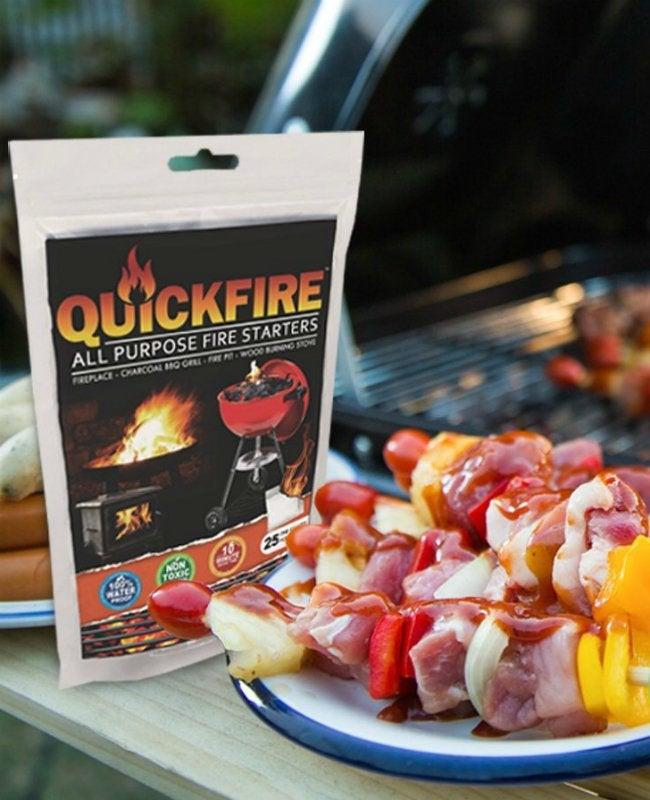 Best Fire Starter - QuickFire Instant Fire Starters