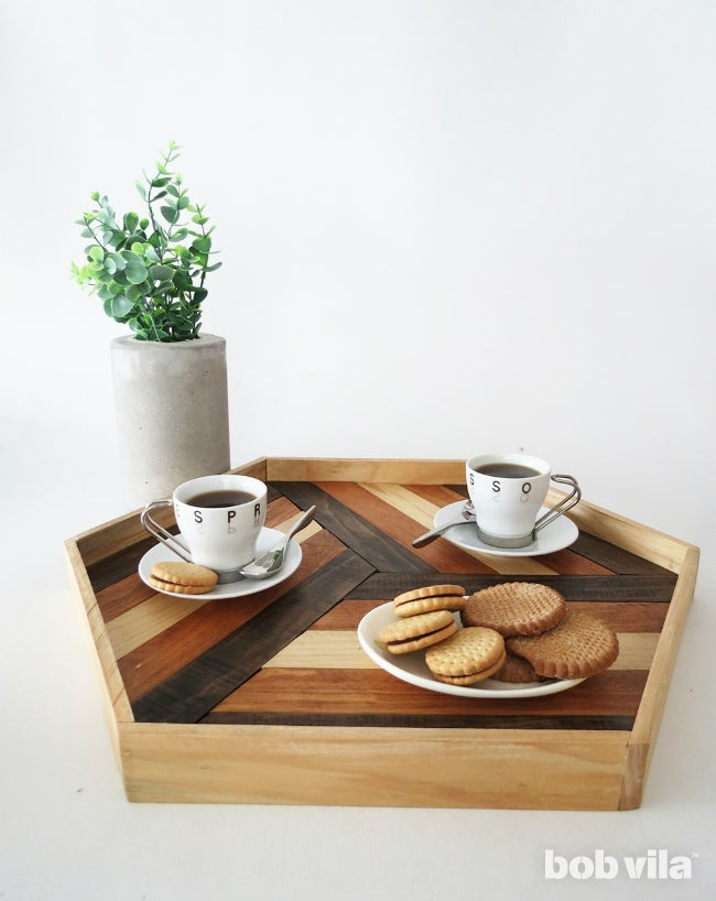 DIY Serving Tray - Complete A
