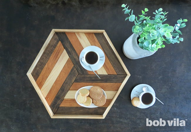 DIY Serving Tray - Complete B