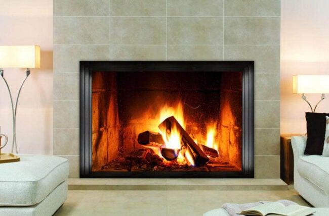 Faux Fireplace